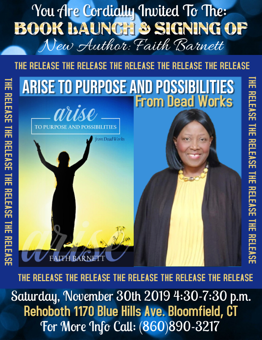 Faith Barnett Book Release