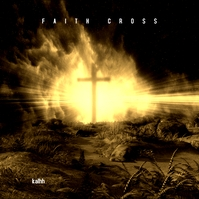 Faith Cross Religion CD Cover Albumhoes template