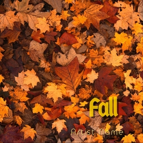 Fall Album Art Pochette d'album template