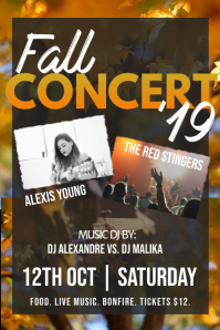 Fall Concert Poster