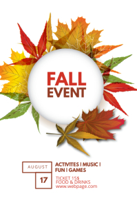 31 300 customizable design templates for fall event template