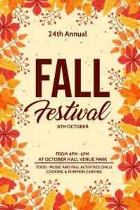 Fall festival, Autumn sale