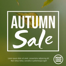 Fall Festival Autumn Sale Flyer