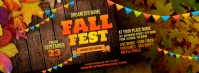 Fall Festival Facebook Cover Photo template