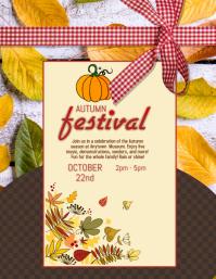 Fall Festival Fair Flyer Template