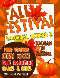 photograph regarding Free Printable Fall Festival Flyer Templates referred to as 4,390+ Tumble Competition Customizable Structure Templates