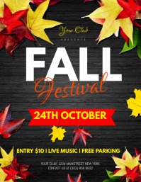 22 640 customizable design templates for fall festival event