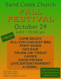 Fall Festival/Halloween Event Flyer