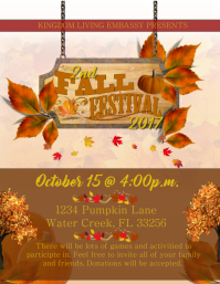 2200 Customizable Design Templates For Harvest Festival