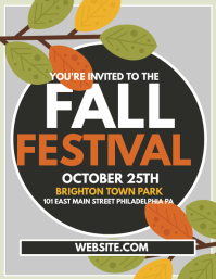 Customizable Design Templates for Fall Festival | PosterMyWall
