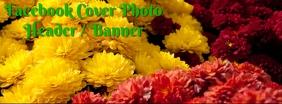 Fall Flowers Facebook Header
