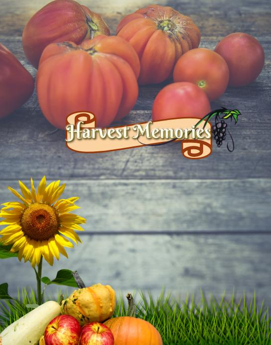 Fall Harvest Memories Poster