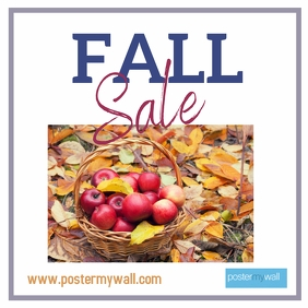 Fall Sale apple basket