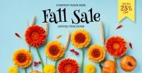 Fall Sale Facebook Share Image Facebook-evenementomslag template