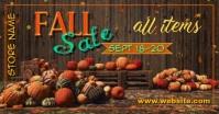 Fall Sale FB Facebook Gedeelde Prent template