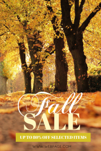 Fall Sale Flyer Template