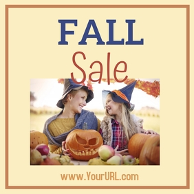 Fall Sale Fun Witches Instagram Post template