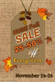 Fall Sale Template