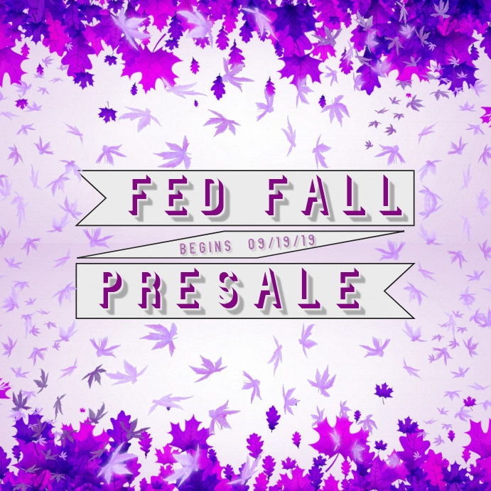 Fall Sale- Purple