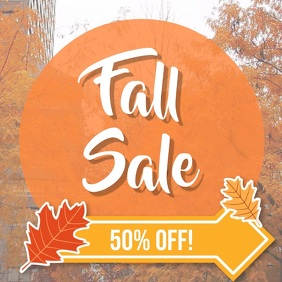 Fall sale video