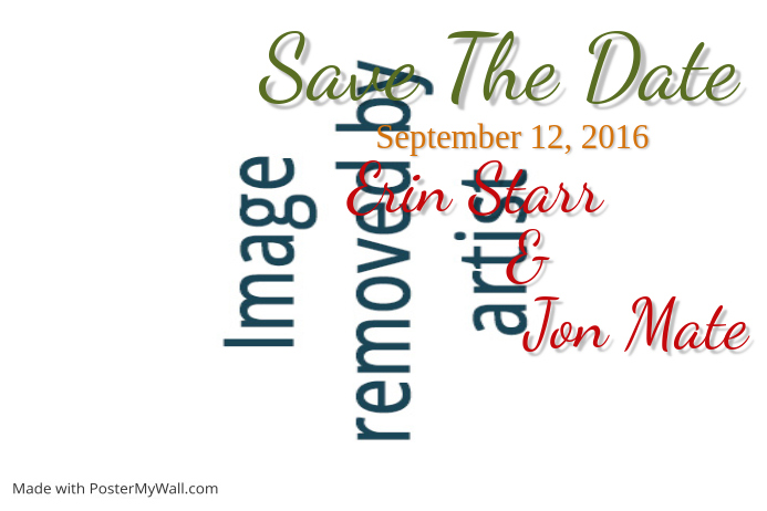 fall save the date postcard template postermywall