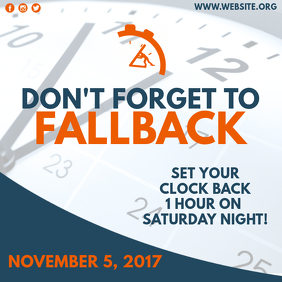 FALLBACK: Time Change