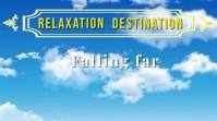 Falliing Sky Relaxation Video Digital Display (16:9) template