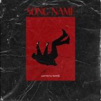 Falling down Mixtape Cover Design Template