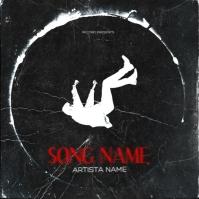 Falling down Mixtape Cover Design Template Pochette d'album