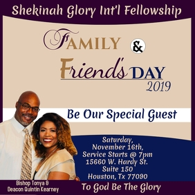 Family & Friends Day Church