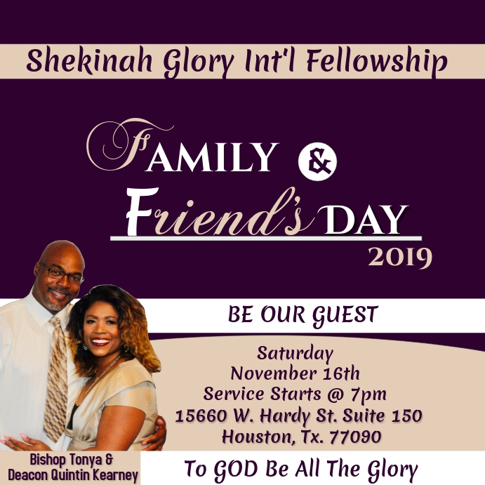 Family & Friends Day Wpis na Instagrama template