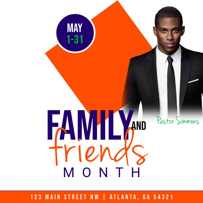 Family & Friends Month