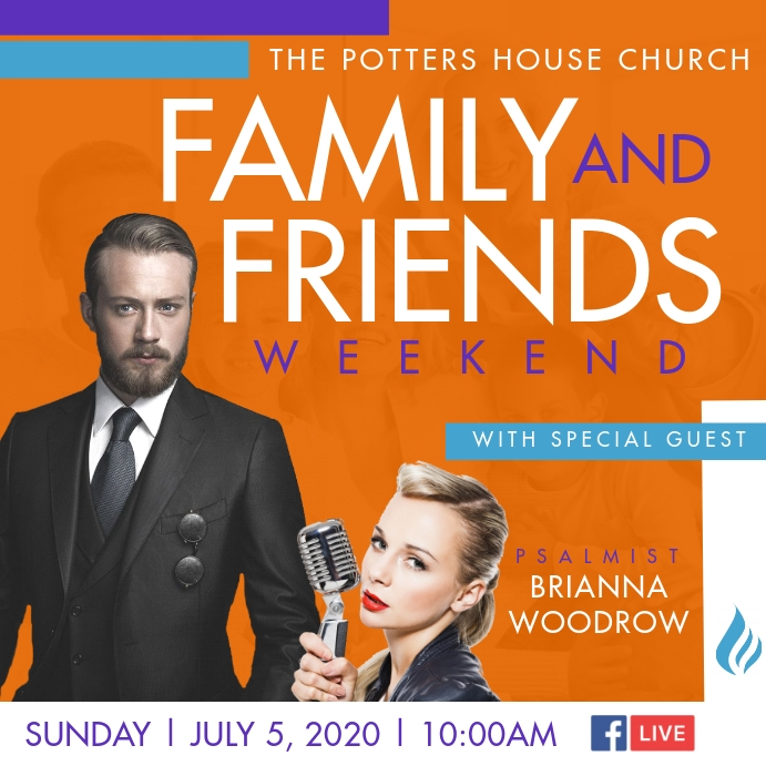 Family & Friends Weekend Wpis na Instagrama template