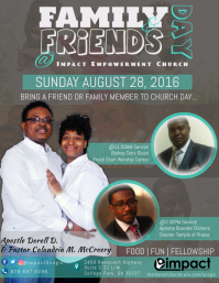 Family & Friends Day 2016 Flyer