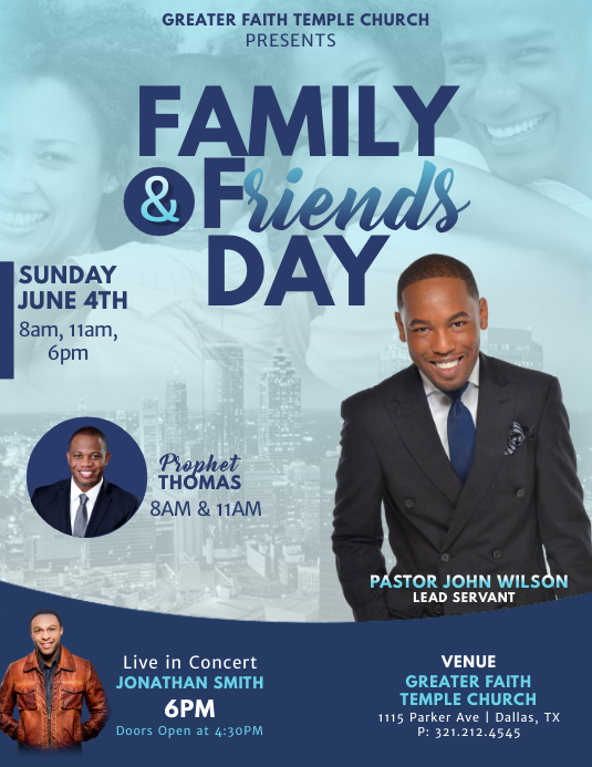 Family & Friends Day