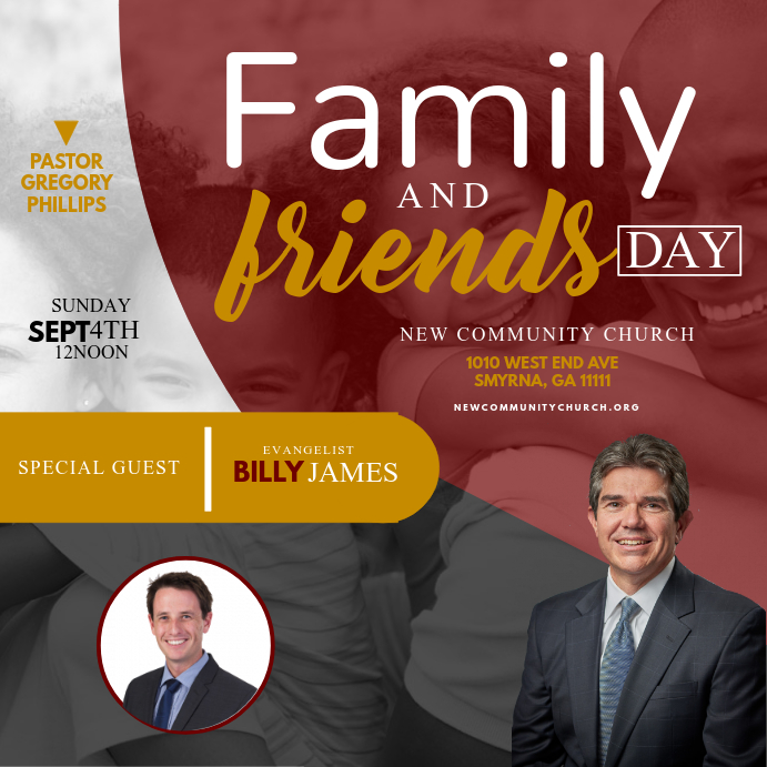 Family & Friends Day Pos Instagram template
