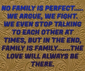 FAMILY AND CHILDREN LOVE QUOTE TEMPLATE Grote rechthoek