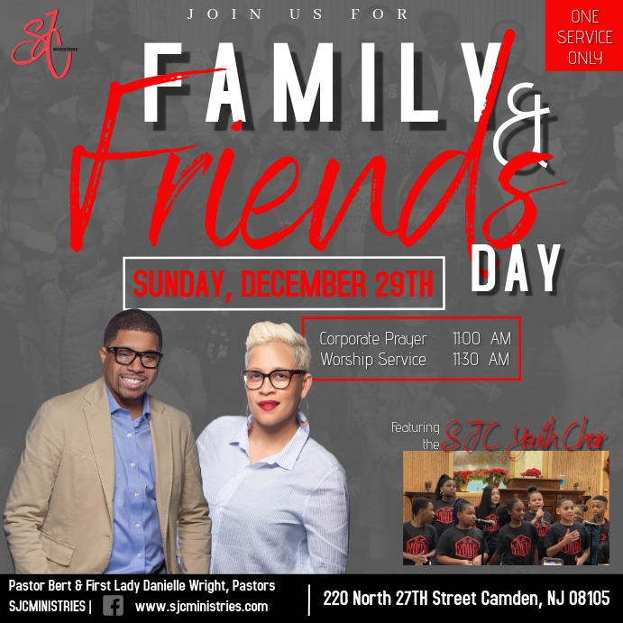 Family and Friends Day Wpis na Instagrama template