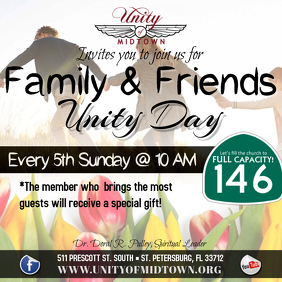 Family and Friends day 专辑封面 template