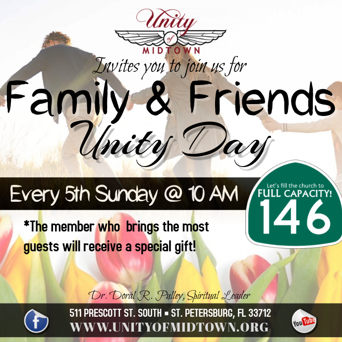 Family And Friends Day Template