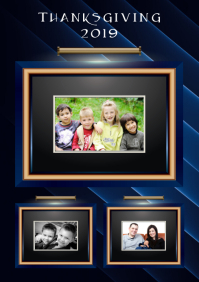 Family Collage A4 template