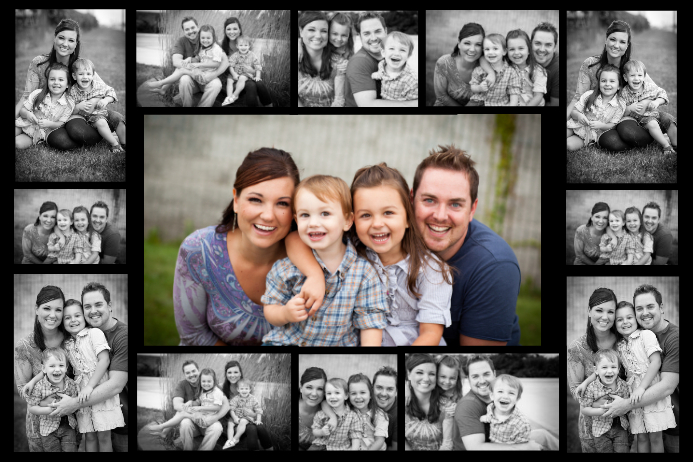 free online photo collage templates - free collage maker cool collages made easy postermywall