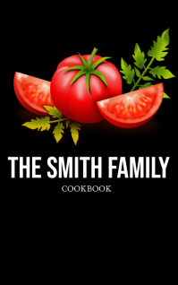 Family Cookbook Kindle/Book Covers template