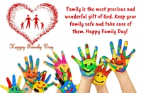 Family Day Label template
