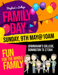 6 490 customizable design templates for family fun day postermywall