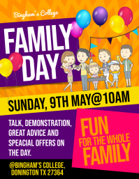 Family Day Flyer