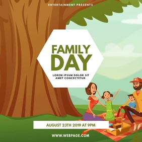 family day Template 方形(1:1)
