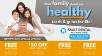 Family Dentistry Pos Twitter template
