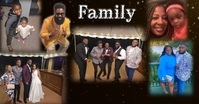 Family Facebook Shared Image template