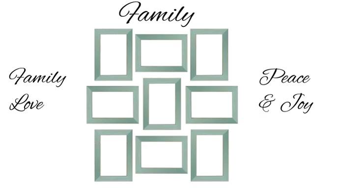 Family Tampilan Digital (16:9) template